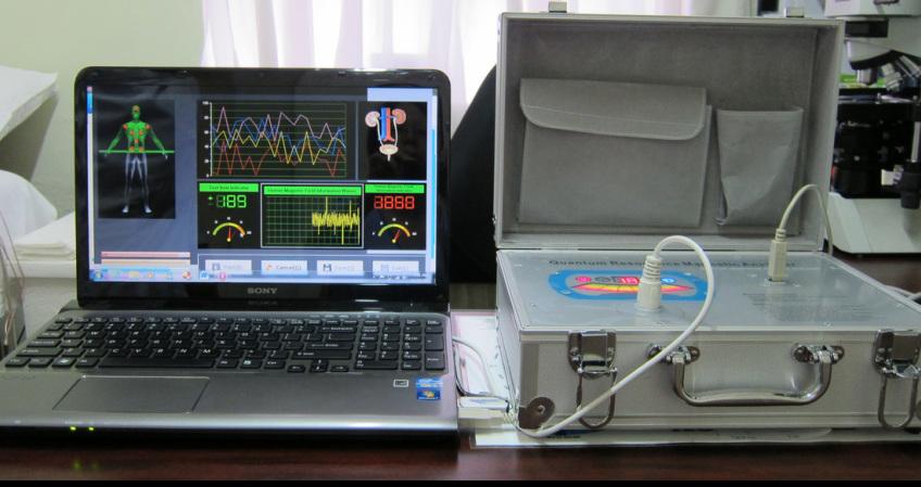 Topnotch Kwantowy rezonans magnetyczny XX01